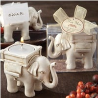 Lucky Elephant Candle Holder- Party City