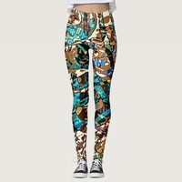 Retrograde Psychedelic Leggings