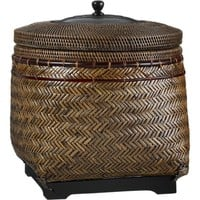 Rinjani Basket in Home Accents | Crate and Barrel