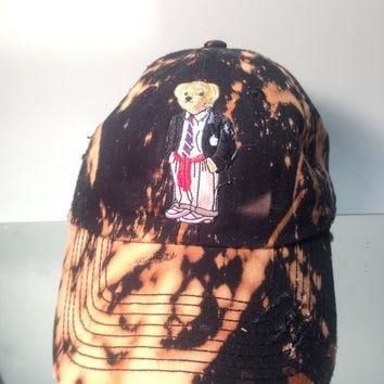 Polo Bear Dad Hats Vintage