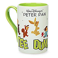 Peter Pan Record Cover Mug