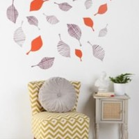 UrbanOutfitters.com > Lotta Jansdotter Plum Leaves Wall Decal