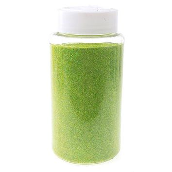 Fine Glitter Arts and Crafts, 1-pound Bulk, Apple Green