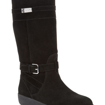 COACH TALLULAH FAUX SHEARLING COLD WEATHER BOOTS