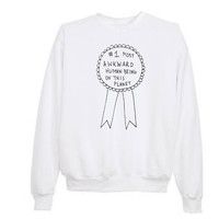 "Tumblr ""#1 Most Awkward Human"" Sweatshirts (CHRISTMAS SALE)"