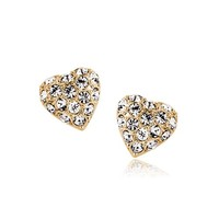 Sparkling Heart Earrings - Lilidoo