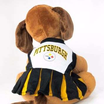 Pittsburgh Steelers Dog Dress Cheerleader NFL Football Official Licensed Product