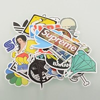 {Factory Direct Sale} (Pack of 100) Stickers Skateboard Snowboard Vintage Vinyl Sticker Graffiti Laptop Luggage Car Bike Bicycle Decals mix Lot Fashion Cool