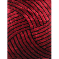 LA Rugs Contempo Shaggy Collection Area Rug
