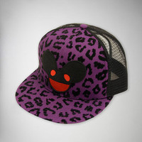 Deadmau5 Cheetah Junior Trucker Hat