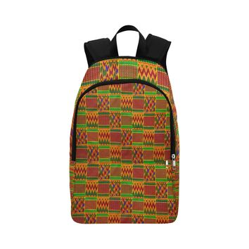 Kente Fabric Backpack for Adult