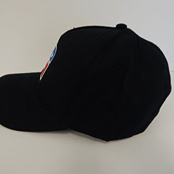 Black Republican Elephant Baseball Hats - Produced on Otto Caps. Support the Party and Wear This Hat! (Black, One Size Fits Most Otto Baseball)