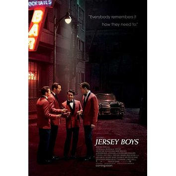 Jersey Boys 27x40 Movie Poster (2014)
