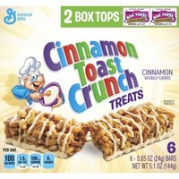 Cinnamon Toast Crunch Treat Bars 6 ct
