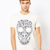 Jack & Jones T-Shirt With Mickey Mouse Skull Print