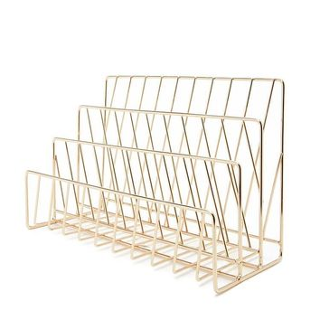 High Polish Wire Organizer