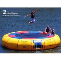 Island Hopper Acrobat 20 Foot Water Trampoline:Amazon:Sports & Outdoors