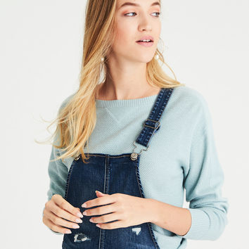 AEO Layer-Perfect Lightweight Sweater, Mint