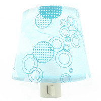Blue Retro Night Light