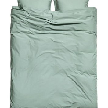H&M Washed Cotton Duvet Cover Set $59.99