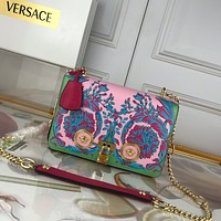 Versace New 303K2 Women's Leather  Shoulder Bag Tote Handbag Shopping Bag Messenger Bags