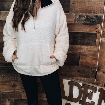Snowy Days Pullover