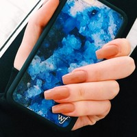 Wildflower Crystal Blue iPhone 6/6S Case