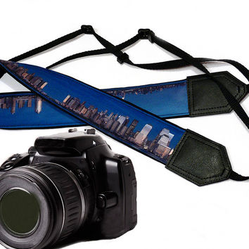 City Camera Strap. Photography. DSLR / SLR Camera Strap. For Sony, canon, nikon, panasonic, fuji and other cameras.