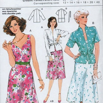 Burda 8972 Sewing Pattern Retro Style Garden Party Sundress Sweetheart Neckline Full Skirt Mandarin Collar Jacket Uncut FF Sizes 12 to 40