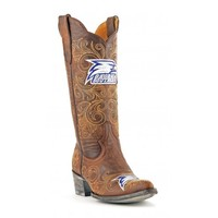 "Gameday Boots Womens 13"" Tall Leather Georgia Southern Cowboy Boots"