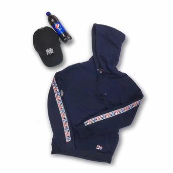 DCCKN7G FILA x Pepsi Fashion Hoodie Top Sweater Pullover