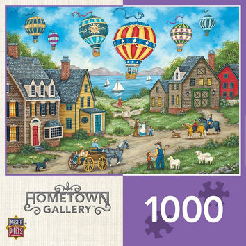 Hometown Gallery - Passing Through - 1000 Piece Jigsaw Puzzle