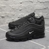 Nike Air Max 97 VaporMax Q100-3200 Black White Sport Running Shoes