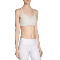 Alo Yoga Womens Becka Removable Padding Wireless Sports Bra
