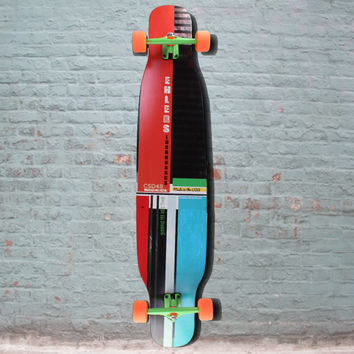 CSD 48 inch Dancer Double Kick Longboard from Ehlers - Cross Stepping - Complete