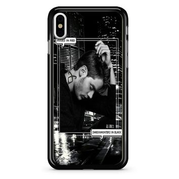Alec Lightwood Shadowhunters In Black iPhone X Case