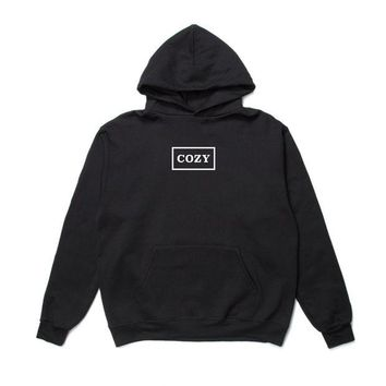 ONETOW Team Cozy - OG Cozy Box Hoodie - Black