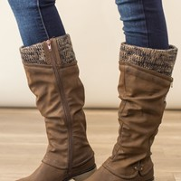 Muk Luk-Bianca Boot-Brown