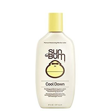 Sun Bum Cool Down Hydrating After Sun Lotion, Hypoallergenic, Aloe, Cocoa Butter
