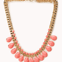 FOREVER 21 Regal Bib Necklace