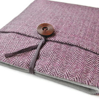 ipad Air / 4 3 Case / ipad Cover / ipad Sleeve / Harris Tweed / Herringbone