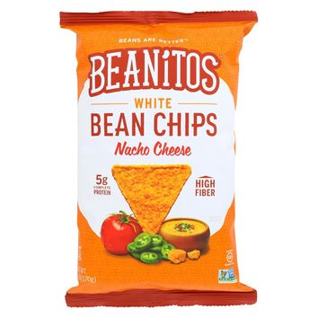 Beanitos Chips - Nacho Cheese - Case Of 6 - 6 Oz.