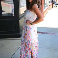 Colored Breeze Tube Maxi