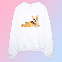 Corgi Loaf Bread Unisex Sweater