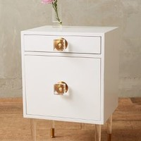 Tracey Boyd Lacquered Regency Nightstand