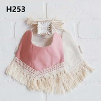 Baby Things Cotton Hydrophilic Tassel Bib Saliva Towel Toddler Child Bandana Bibs Burp Cloth Feeding Apron Infant Scarf