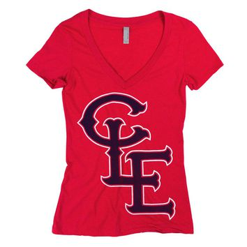 Cleveland Monogram – Womens T-shirt