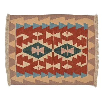 "Turkish Kilim Turkish 2' 10"" X 3' 6"" Handmade Rug"