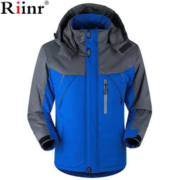 Riinr 2017 New Men's Casual Jackets Man's Army Waterproof Coats Male Jacket Breathable Windproof Raincoat Plus Size L-5XL