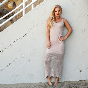 Which Way Crochet Maxi Dress